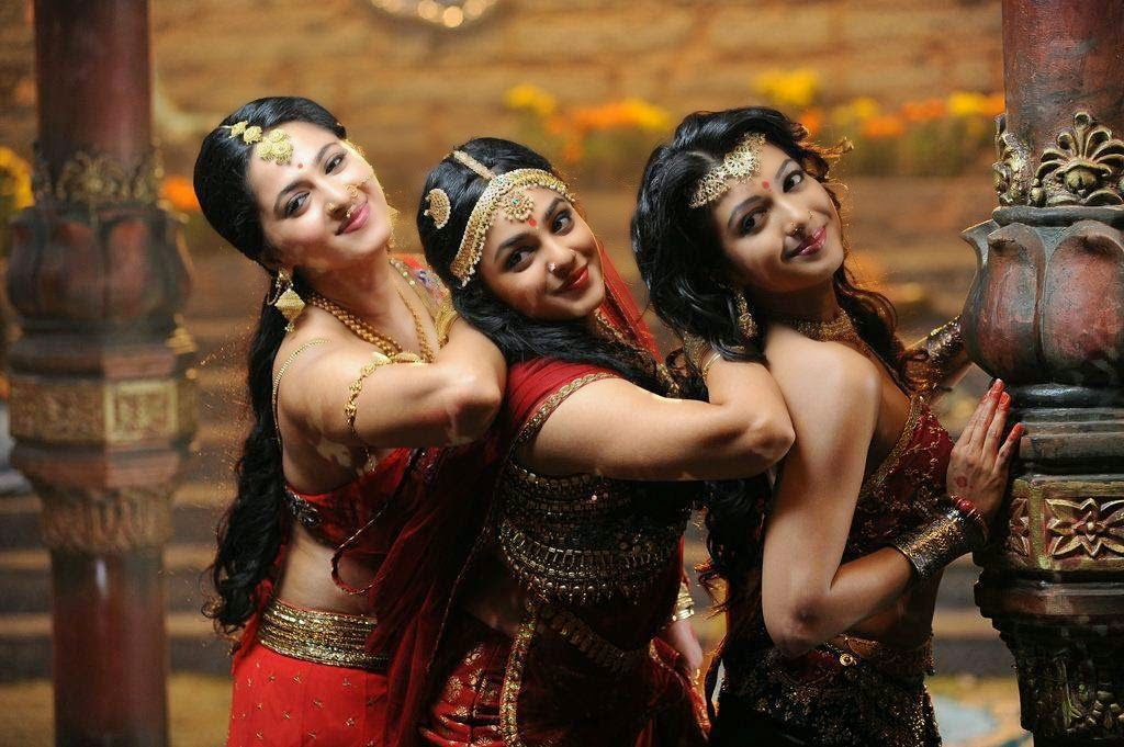 Anushka Shetty Latest Photos in Rudramadevi Movie