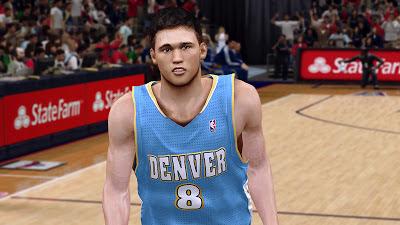 NBA 2K13 Danilo Gallinari Cyberface Mod