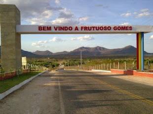 Portico Entrada Da Cidade Frutuoso Gomes-RN