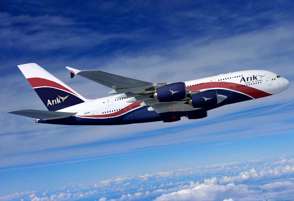 arik air suspends flights liberia