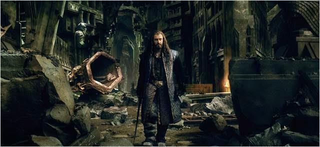"""Thorin Escudo de Roble en """"El Hobbit: La Batalla de los Cinco Ejércitos"""""""