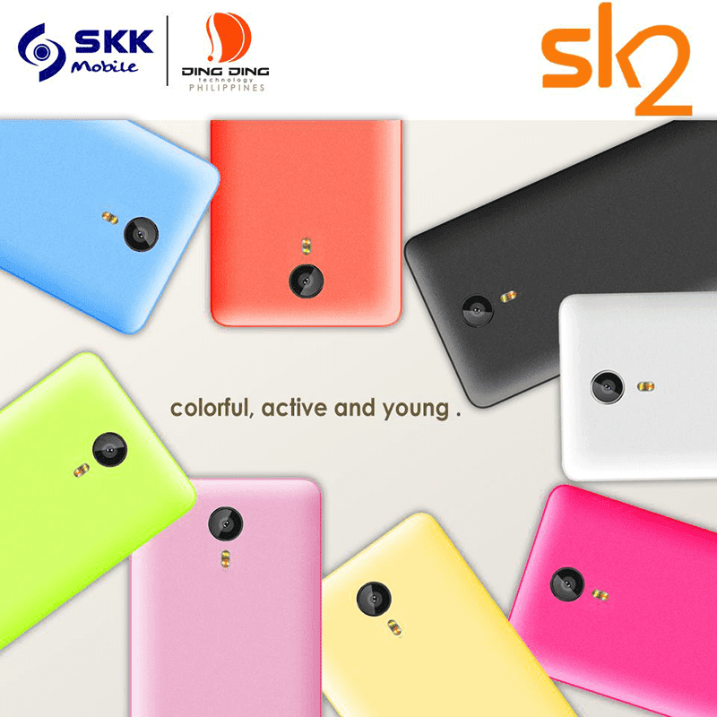 SKK Mobile Teased A Hip Looking Ding Ding SK2 With 2.5D Glass Curved Glass Screen!