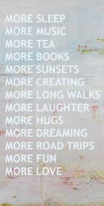 ♥ Cuvantul anului : mai mult...din ceea ce conteaza cu adevarat