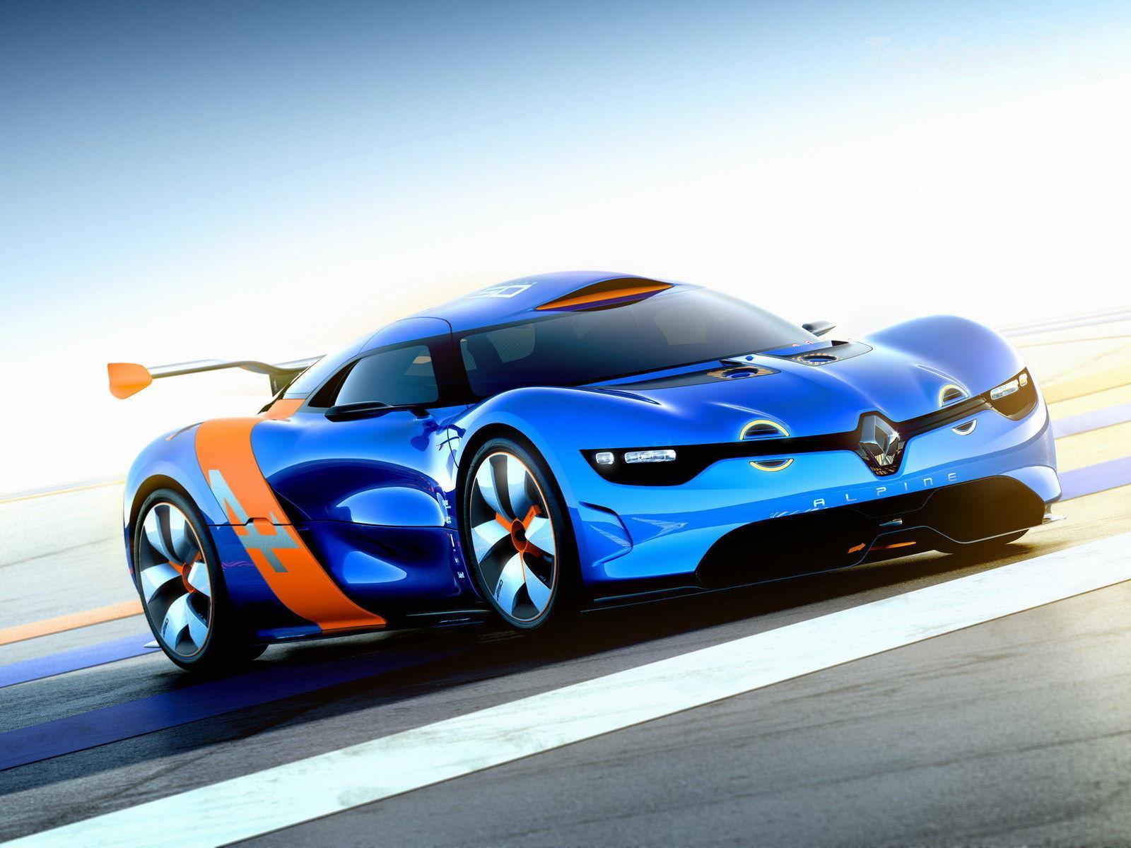 a car Renault Alpine vai chegar em 2015