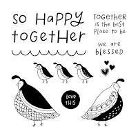 Stamp Of The Month - Flock Together