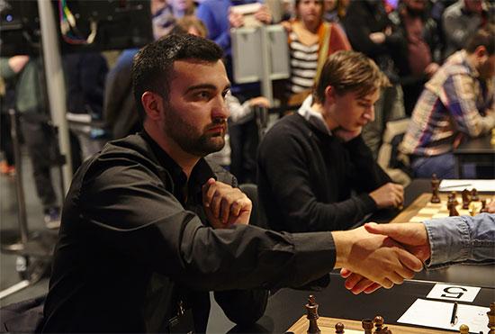 Igor Kovalenko a été sans aucun doute une des stars de la 2e journée du Rapide - Photo © site officiel