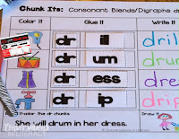 Chunk Its Consonant Blends and Digraphs