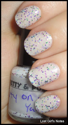 pretty & polished party on my yacht swatches and review