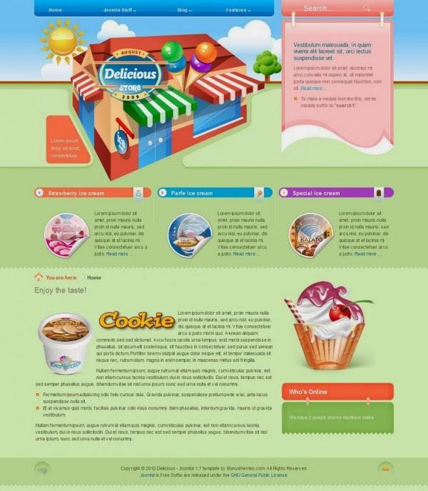 BT Delicious - Bowtheme Joomla Premium Templates