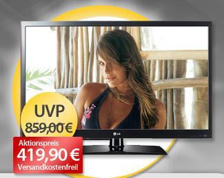 37 Zoll LED-TV LG 37LV5590 als OHA-Tagesangebot bei MeinPaket für 419,90 Euro