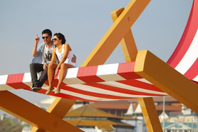 The World's Largest Deckchair on the beach