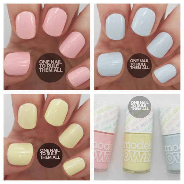 One Nail To Rule Them All: Models Own Fruit Pastel