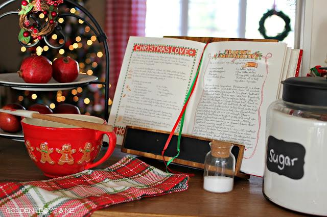 Christmas Baking Susan Branch cookbook-www.goldenboysandme.com