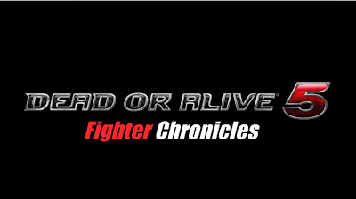 Dead Or Alive 5 - Fighter Chronicles Logo - We Know Gamers