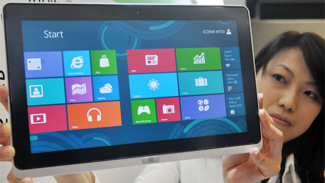 Windows 8   version will be available on form factors ranging from tablets to laptops and ultra notebooks from 14 OEM (original equipment manufacturer) partners, including Acer, Dell, Fujitsu, HCL, Hewlett Packard, Lenovo, Samsung, Sony, Toshiba, Wipro and Zenith Computers.Over 250 Windows 8 enabled devices,