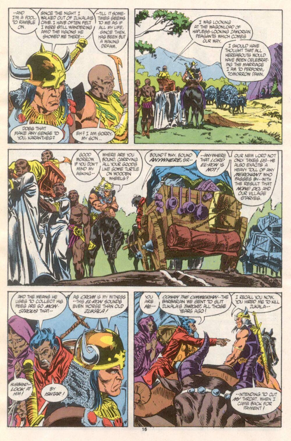 Conan the Barbarian (1970) Issue #241 #253 - English 13