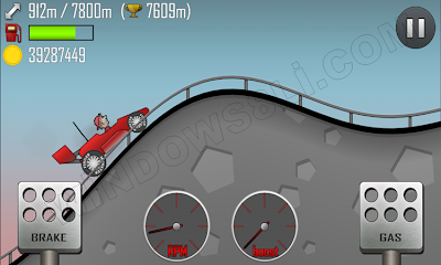 Windows 8 Hill Climb Racing