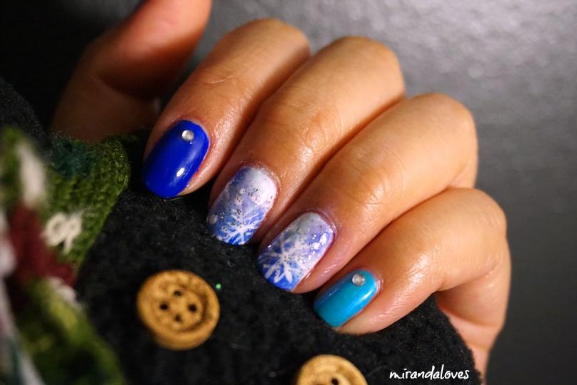 Holiday 2015 Nail Art Contest Nail Polish Canada Miranda Loves