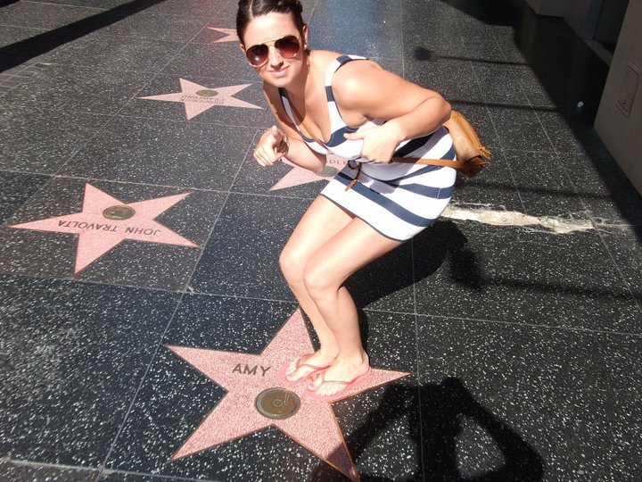 Top tips for travelling - Hollywood walk of fame LA