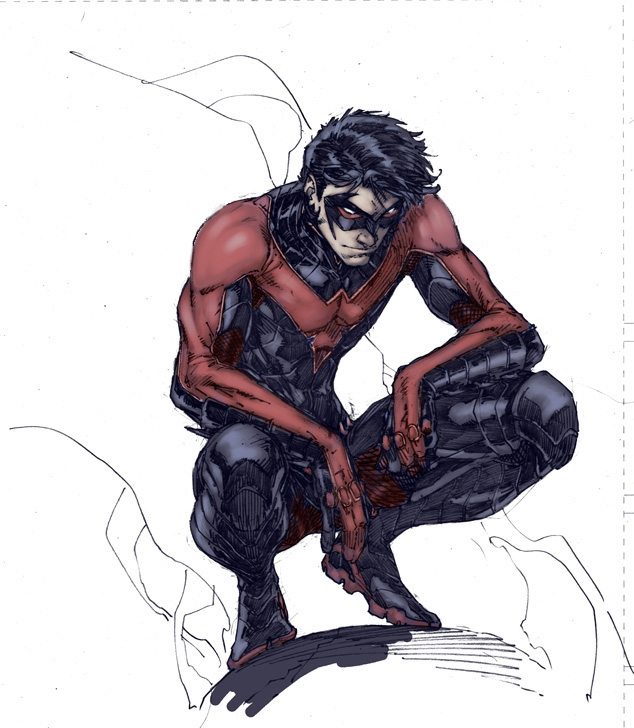 ... Wicked Awesome Art Blog: New project announcement: Nightwing