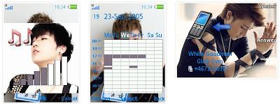 金聖圭@INFINITE SonyEricsson手機主題for Elm/Hazel/Yari/W20﹝240x320﹞