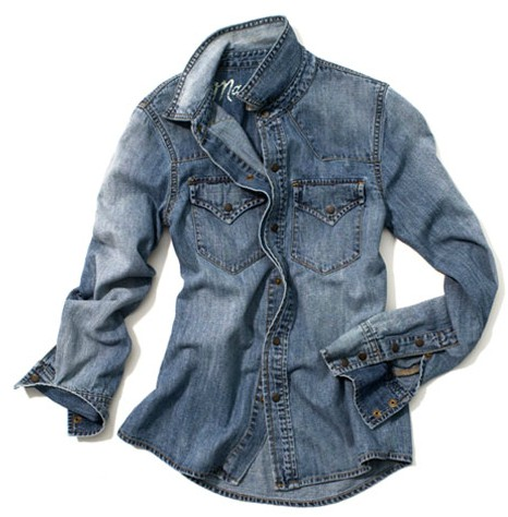 The Modern Sophisticate: Fashion Essential: Chambray Shirt