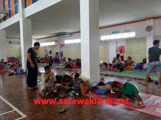 Terkini Jumlah Mangsa Banjir Di Pusat Pemindahan Di Sarawak Berkurangan
