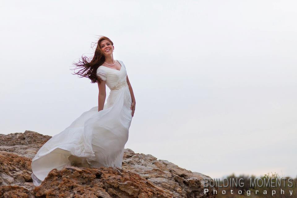 Wedding dresses before and after my wedding for Where can i get my wedding dress steamed