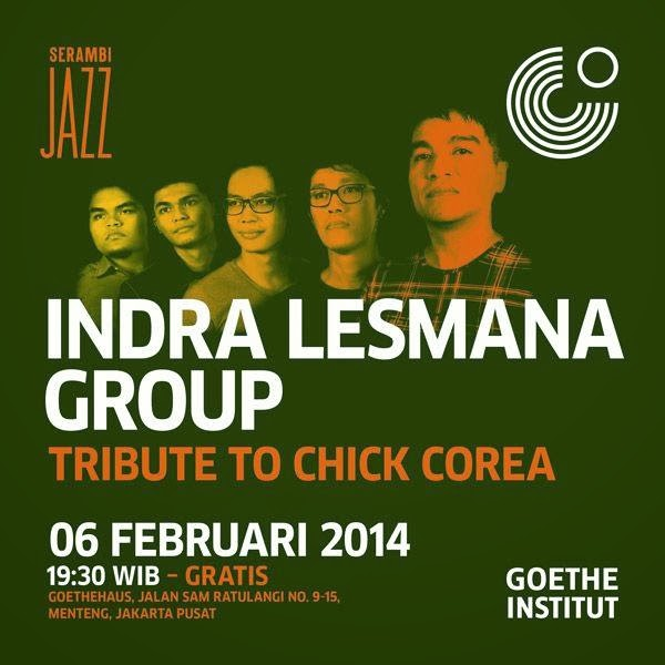 Konser Jazz: Indra Lesmana Group Tribute to Chic di GoetheHaus