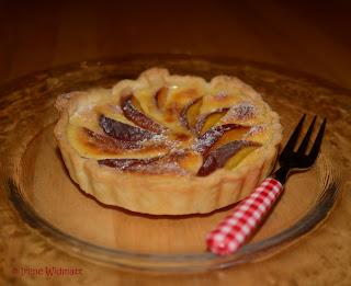 Pfirsich- Tartelette