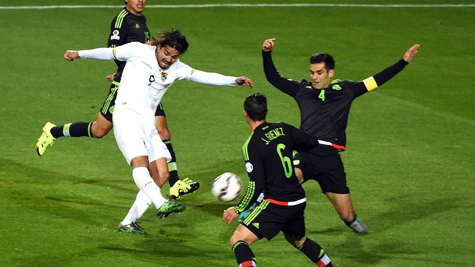 Mexico vs. Bolivia, Copa America Chile 2015 | Ximinia