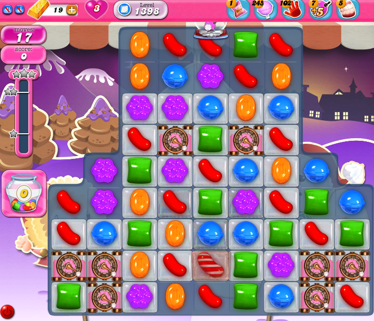 Candy Crush Saga 1398