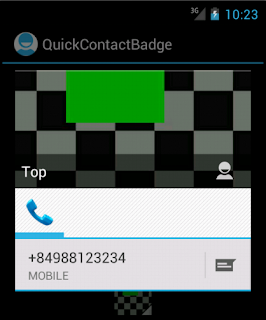 Android Custom QuickContactBadge - Figure 3