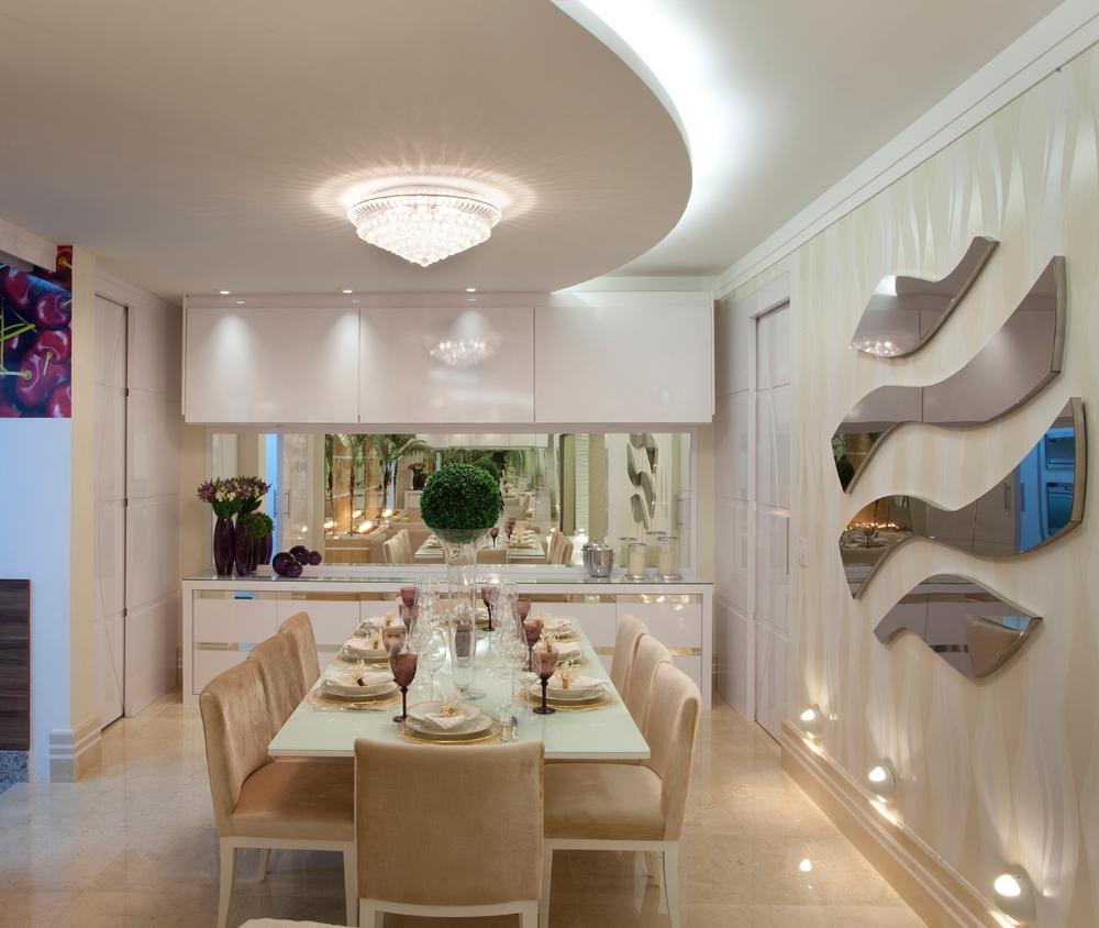 Buffet Sala De Jantar Laca ~ Salas de jantar brancas e off whites – veja modelos lindos e dicas