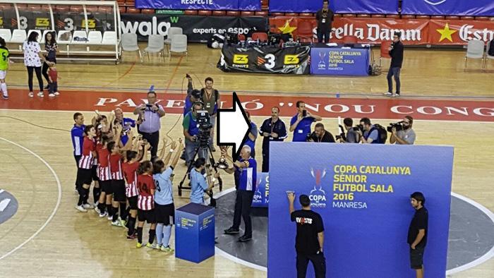 (clica foto) - COPA CATALANA . VÍDEO.GIRO/ESPLUGUES