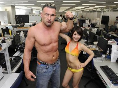 Jerome Le Banner e Kawakami Nanami