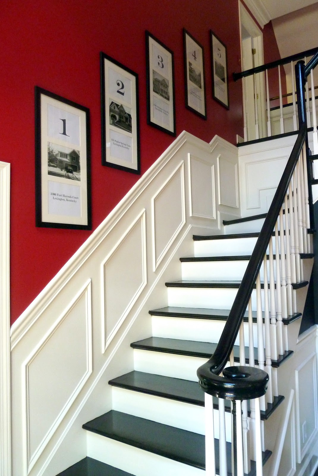 Simcoe street a dream foyer carmel from our fifth house for Hall and stairs ideas