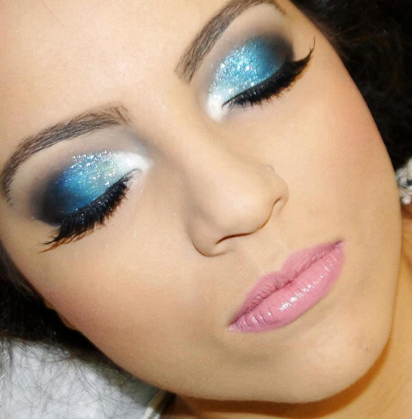 maquiagem azul para usar de noite 15 Car Tuning
