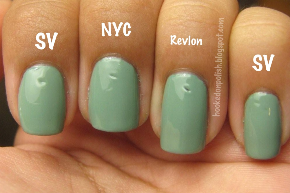 Hooked On Polish: Top Coat Comparison - Seche Vite vs. NYC In a ...