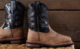 MyHabit: Save Up to 60% off Western Boots for Little Cowboys and Cowgirls: From bright colors like pink and red to sweet details like butterfly embroidery, your little cowboy or cowgirl will be ready for the rodeo. Or an excursion to the grocery store