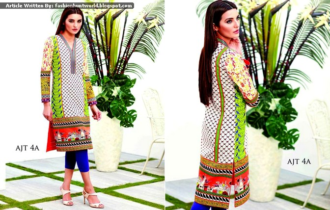 Tunic Collection 2015 By Asim Jofa