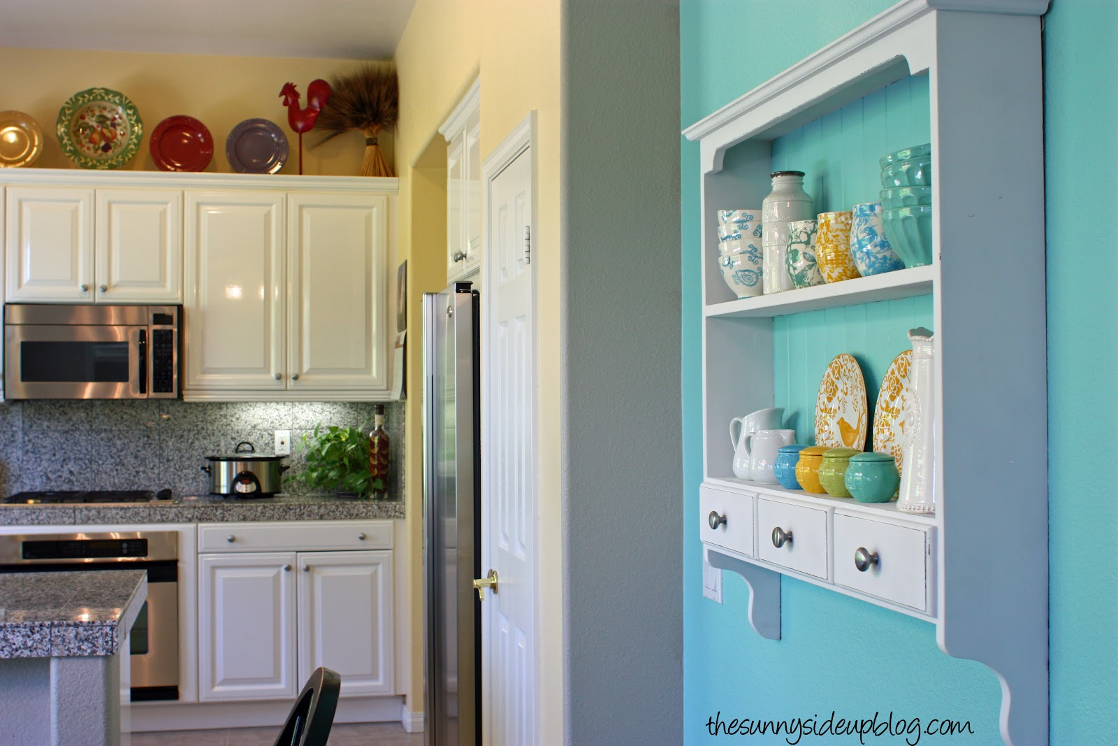 It all started with a shelf (home decor re-cap) - The Sunny Side Up Blog