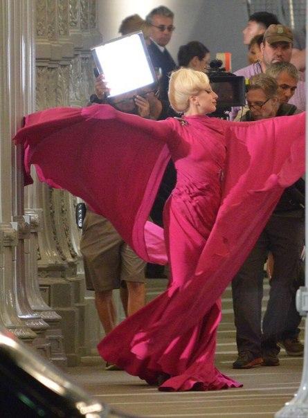 Primeras imágenes y vídeo de Lady Gaga en el rodaje de 'American Horror Story: Hotel'