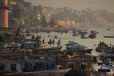 varanasi ghats and ganges