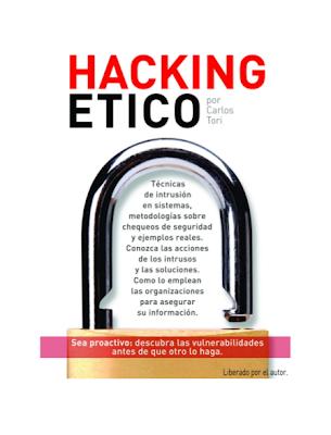 Imagen de la portada del libro Hacking Etico