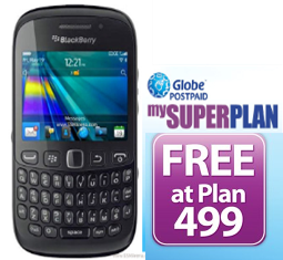 BlackBerry Curve 9320 plan