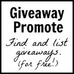 Promoting blog giveaways, events, contests and sweepstakes.
