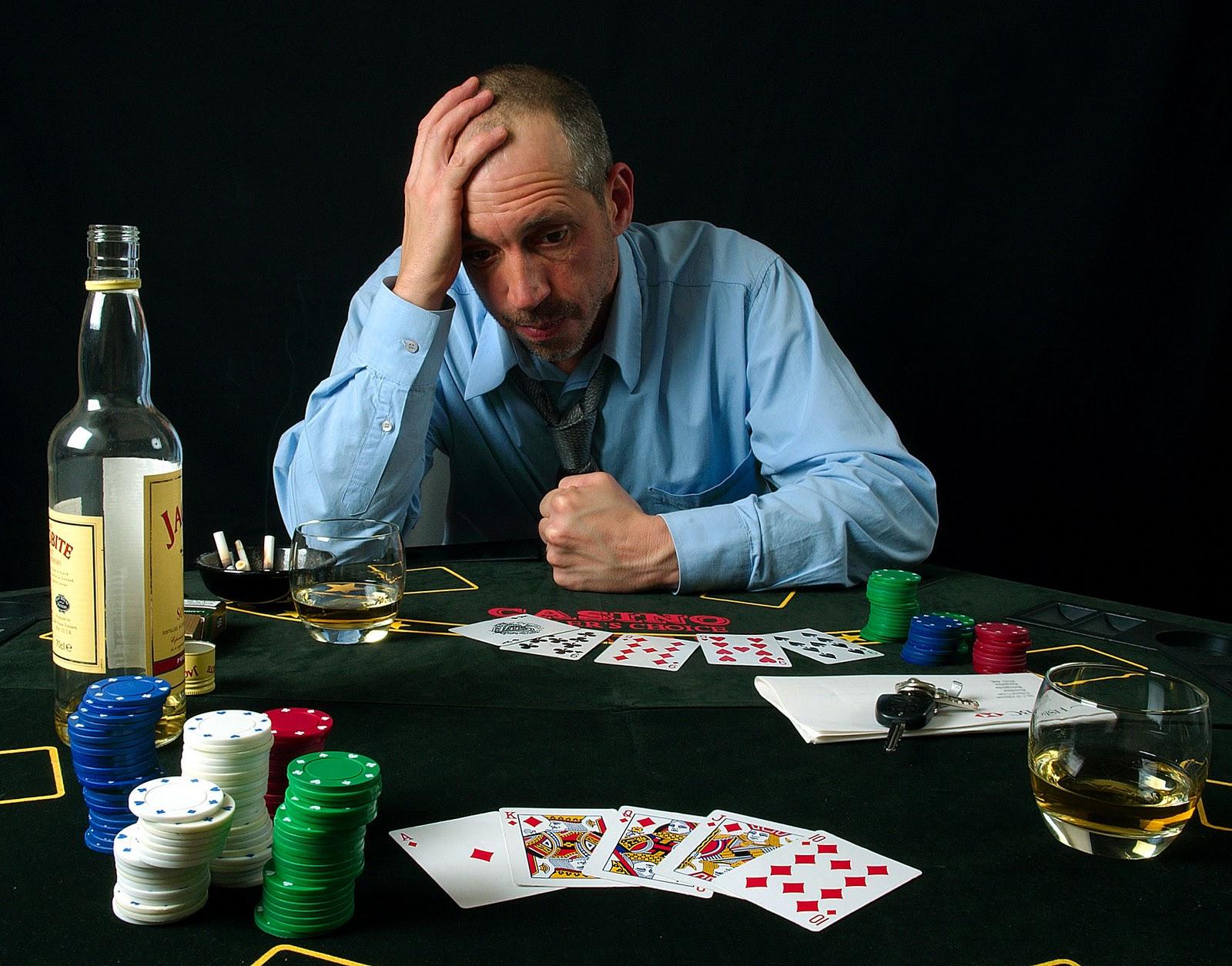 Gambling addiction poverty