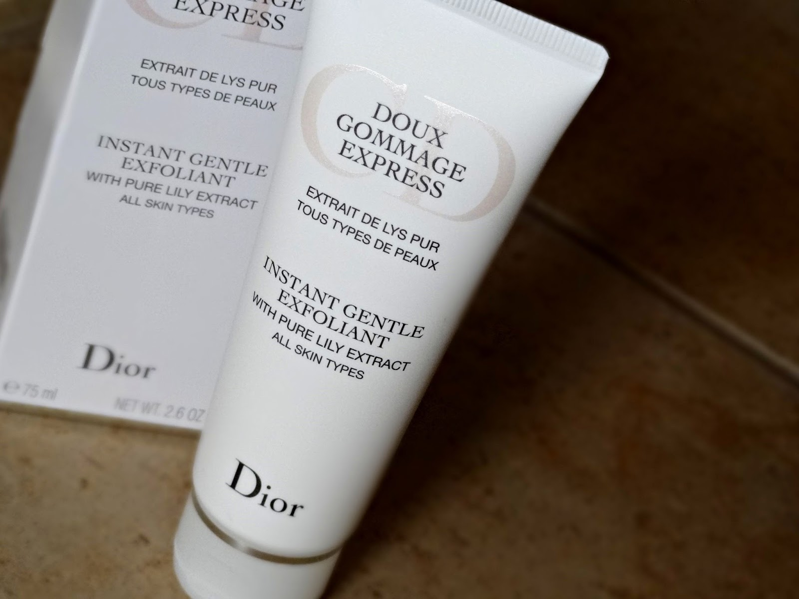 Dior's Instant Gentle Exfoliant With Pure Lily Extract