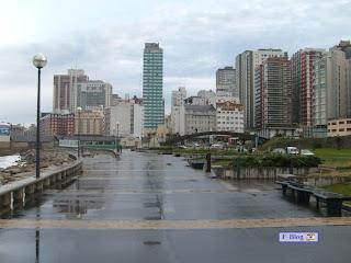 Mar del Plata después de la lluvia
